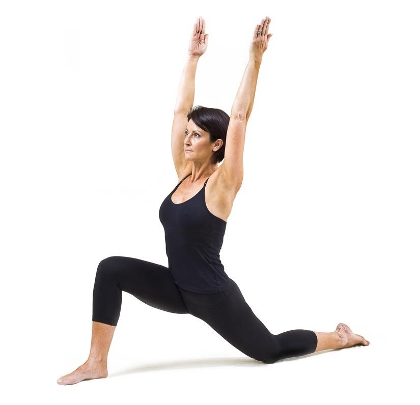 low lunge pose yoga