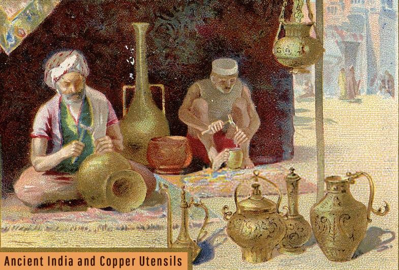 yogic science copper utensils