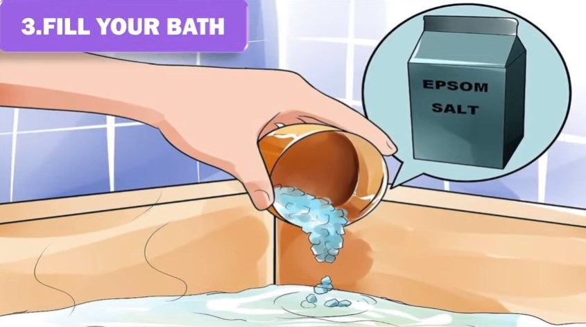 epsom salt bath for knee pain